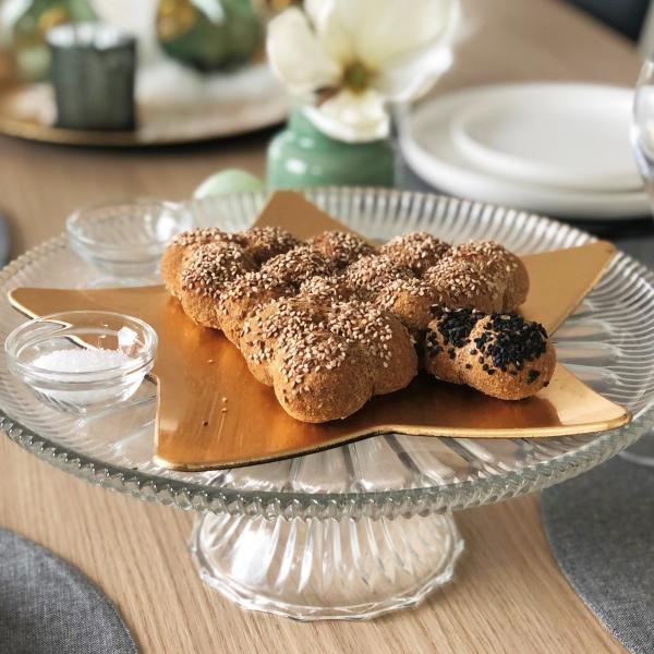 Gluten- en lactose vrij Kerstboom breekbrood KPNI Foodie